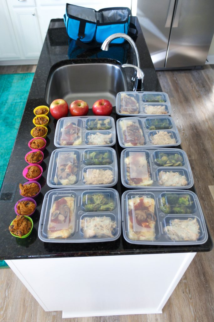 keto lunch meal prep