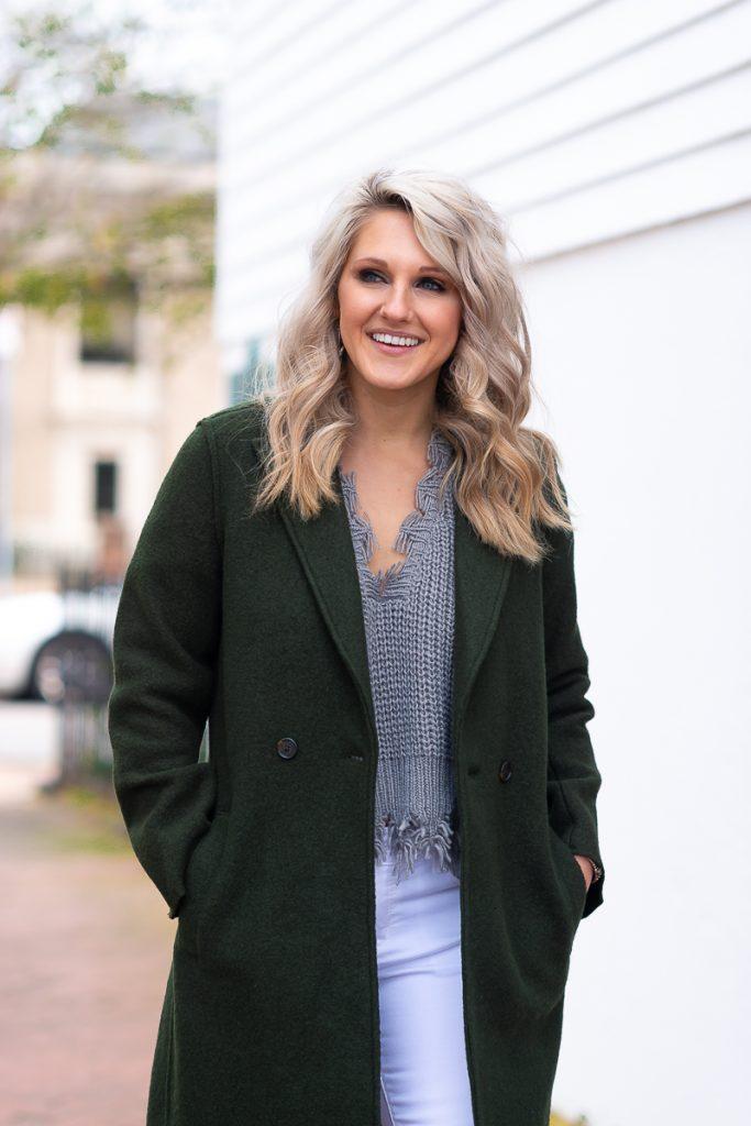 frayed-hem-sweater-j-crew-boiled-wool-coat-nordstrom-sale-chasing-chelsea-blog-chelsea-adams-norfolk-virginia-womens-outfit-ideas