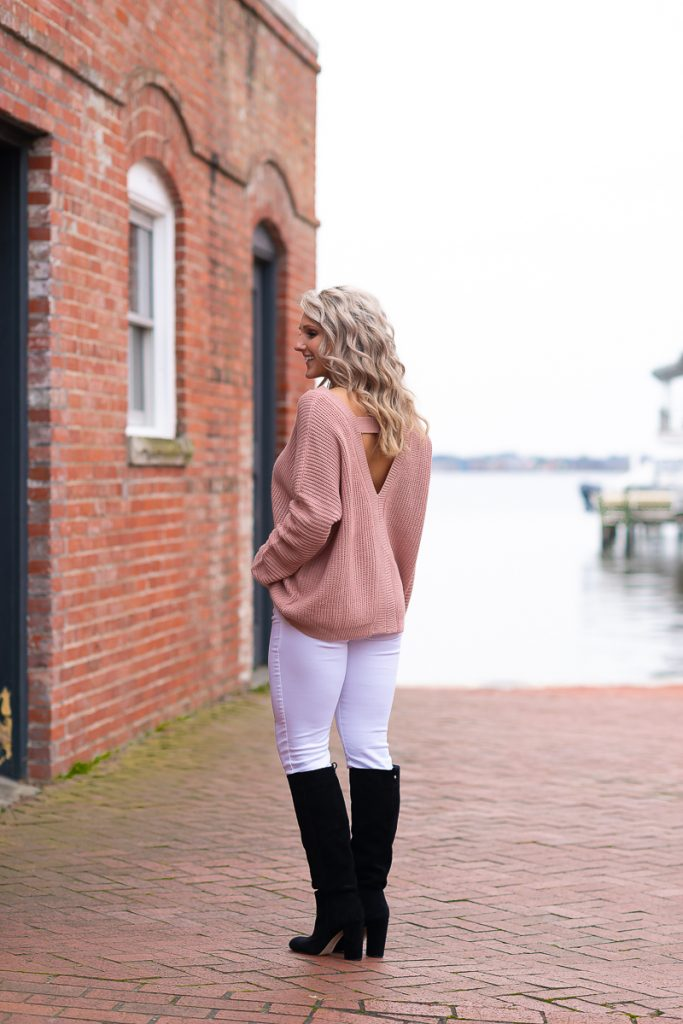 valentine-day-outfit-galentines-day-party-ideas-cute-outfits-winter-womens-outfits-chelsea-adams-blog-chasing-chelsea-edited 9 (1 of 1)-norfolk-va-morgan-renee-photography 2