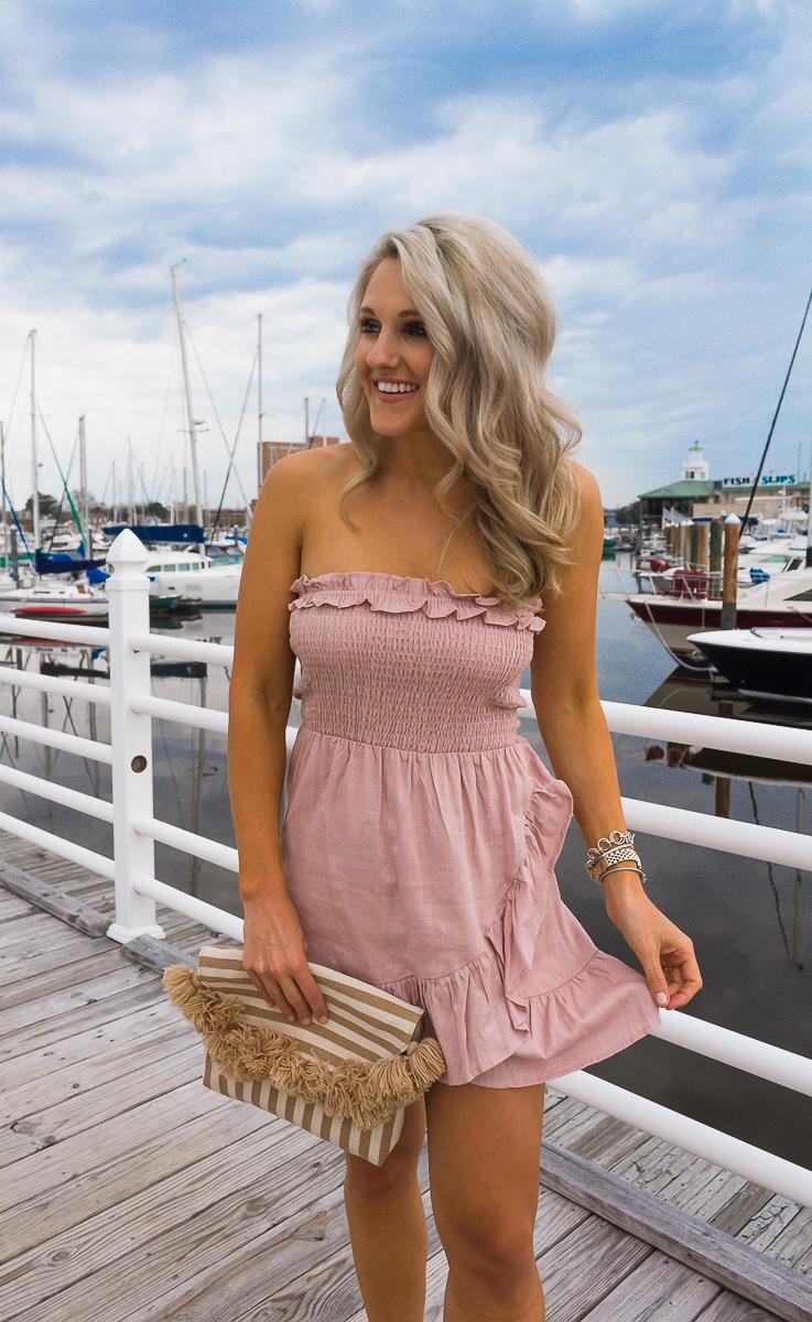 apricot-lane-ruffle-pink-dress-chasing-chelsea (1 of 1)